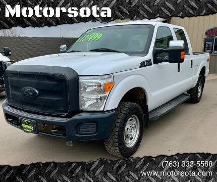 2014 Ford F-250 Super Duty for sale at Motorsota in Becker MN