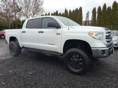 2016 Toyota Tundra for sale at Universal Auto Sales in Salem OR