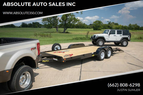 2020 Big Tex 70CH-20BKDT for sale at ABSOLUTE AUTO SALES INC - Big Tex Trailers in Corinth MS