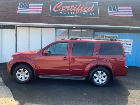 2005 Nissan Pathfinder for sale at Certified Auto Sales, Inc in Lorain OH