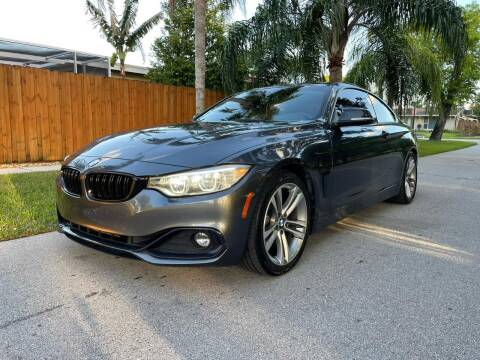 2014 BMW 4 Series for sale at Venmotors Hollywood in Hollywood FL