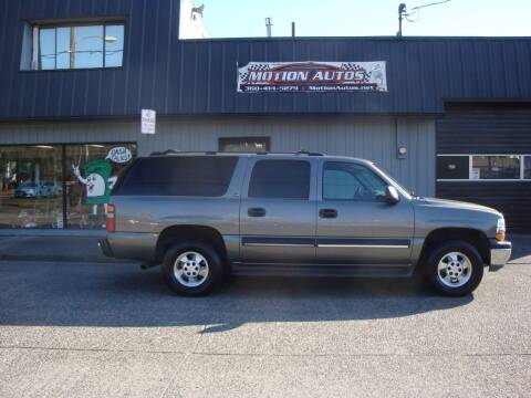 2001 Chevrolet Suburban for sale at Motion Autos in Longview WA