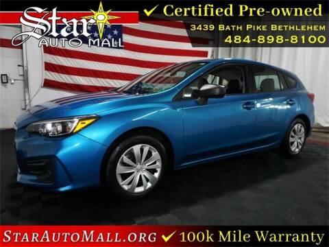 2017 Subaru Impreza for sale at STAR AUTO MALL 512 in Bethlehem PA