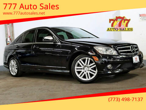 2008 Mercedes-Benz C-Class for sale at 777 Auto Sales in Bedford Park IL