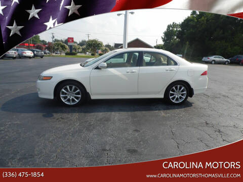 2008 Acura TSX for sale at CAROLINA MOTORS in Thomasville NC