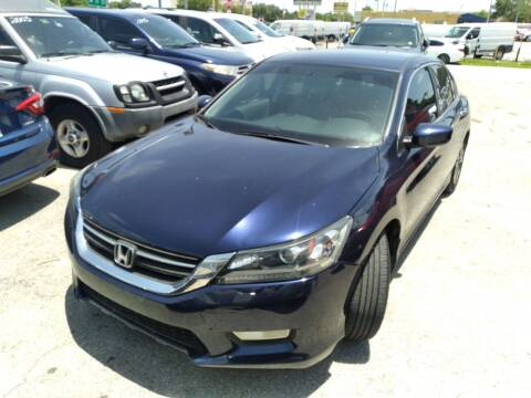 2013 Honda Accord for sale at P S AUTO ENTERPRISES INC in Miramar FL