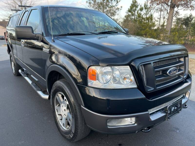 2004 Ford F-150 for sale at LA 12 Motors in Durham NC
