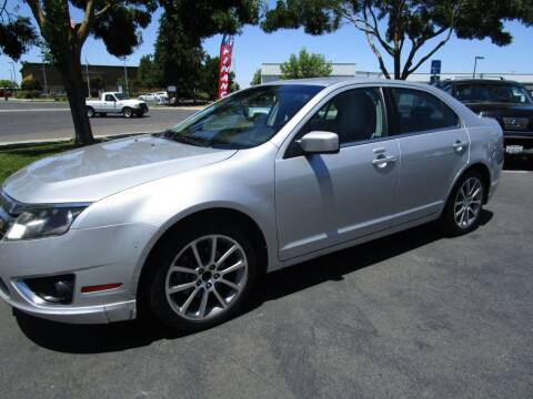 2010 Ford Fusion for sale at KM MOTOR CARS in Modesto CA