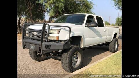 2005 Chevrolet Silverado 2500HD for sale at Noble Motors in Tucson AZ