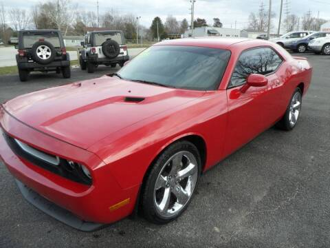 2012 Dodge Challenger for sale at CARSON MOTORS in Cloverdale IN