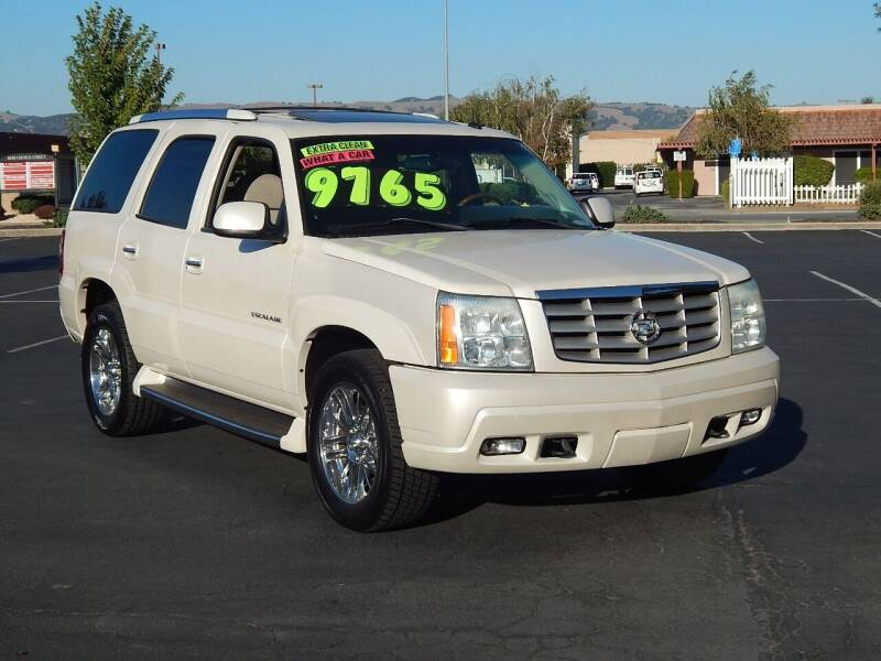 2002 Cadillac Escalade for sale at Gilroy Motorsports in Gilroy CA