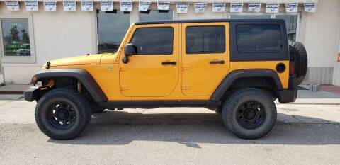 2012 Jeep Wrangler Unlimited for sale at HomeTown Motors in Gillette WY