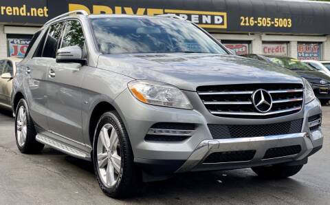2012 Mercedes-Benz M-Class for sale at DRIVE TREND in Cleveland OH