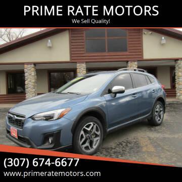 2018 Subaru Crosstrek for sale at PRIME RATE MOTORS in Sheridan WY