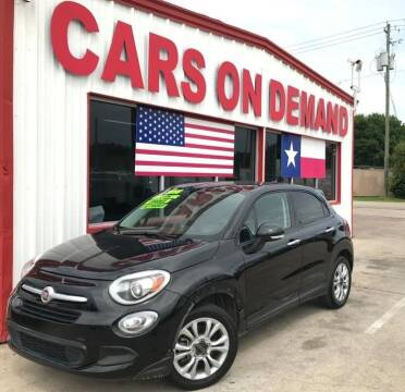 2016 FIAT 500X for sale at Cars On Demand 3 in Pasadena TX