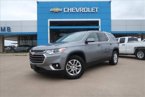 2018 Chevrolet Traverse for sale at Lipscomb Auto Center in Bowie TX