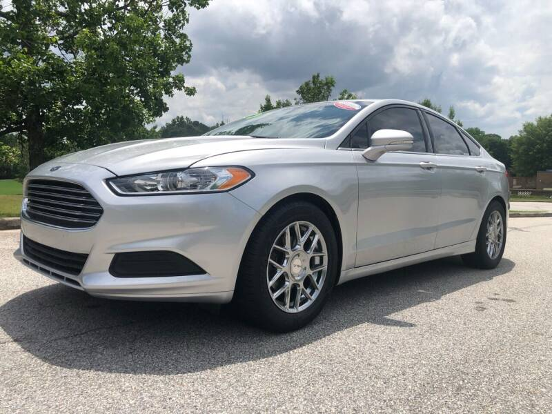 2015 Ford Fusion for sale at Chris Motors in Decatur GA