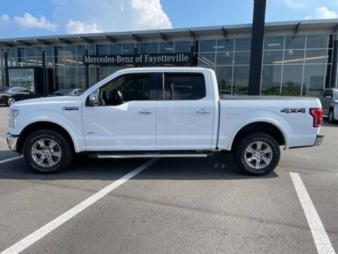 2015 Ford F-150 for sale at PHIL SMITH AUTOMOTIVE GROUP - MERCEDES BENZ OF FAYETTEVILLE in Fayetteville NC