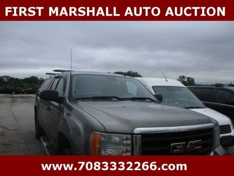 2009 GMC Sierra 1500 for sale at First Marshall Auto Auction in Harvey IL
