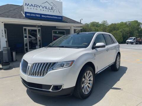 2012 Lincoln MKX for sale at Maryville Auto Sales in Maryville TN