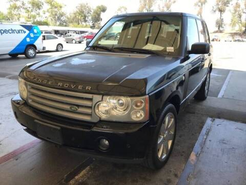 2008 Land Rover Range Rover for sale at SoCal Auto Auction in Ontario CA
