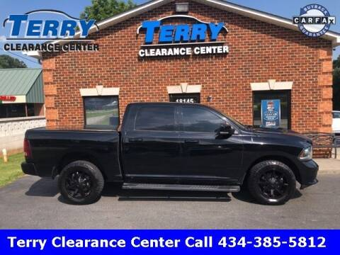 2014 RAM Ram Pickup 1500 for sale at Terry Clearance Center in Lynchburg VA