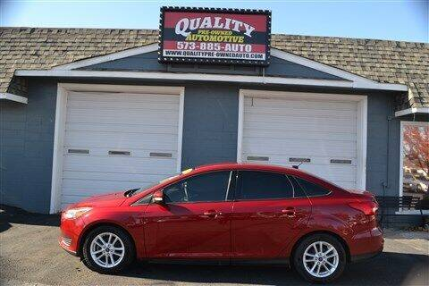 2015 Ford Focus for sale at Quality Pre-Owned Automotive in Cuba MO
