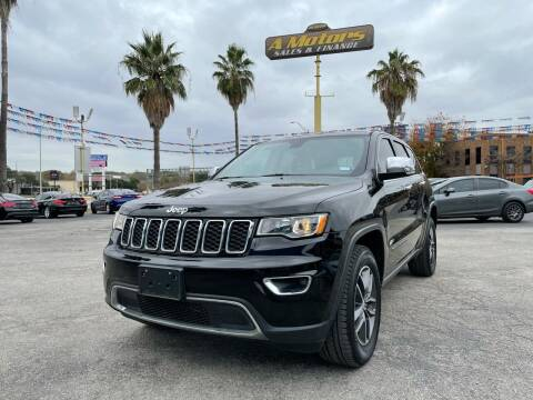 2017 Jeep Grand Cherokee for sale at A MOTORS SALES AND FINANCE in San Antonio TX