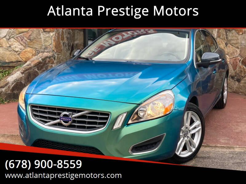 2012 Volvo S60 for sale at Atlanta Prestige Motors in Decatur GA