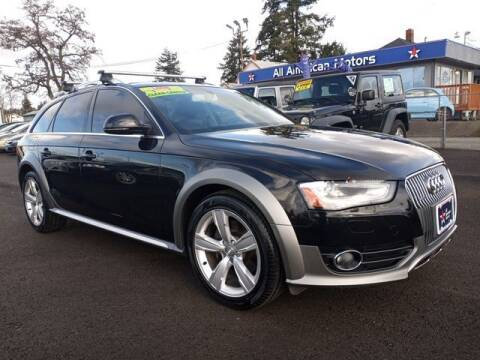 2013 Audi Allroad for sale at All American Motors in Tacoma WA
