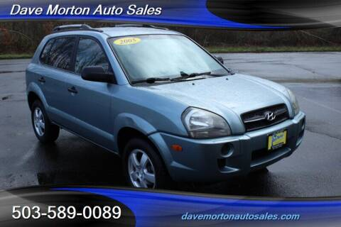 2005 Hyundai Tucson for sale at Dave Morton Auto Sales in Salem OR