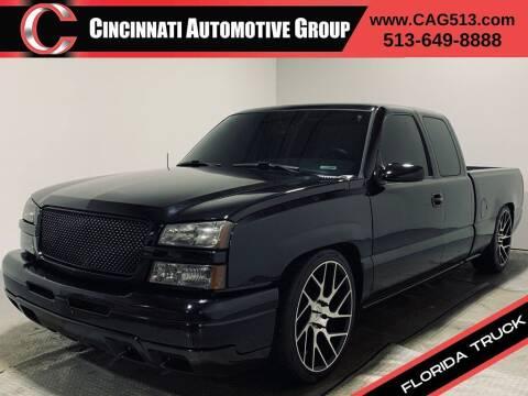 2005 Chevrolet Silverado 1500 for sale at Cincinnati Automotive Group in Lebanon OH