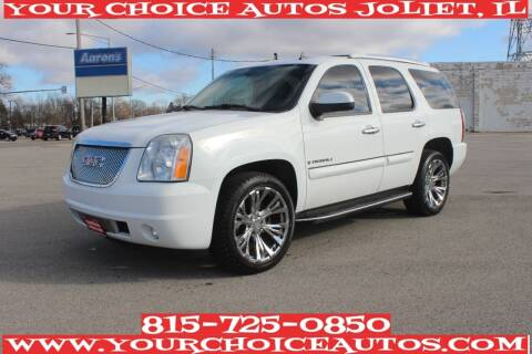 2008 GMC Yukon for sale at Your Choice Autos - Joliet in Joliet IL