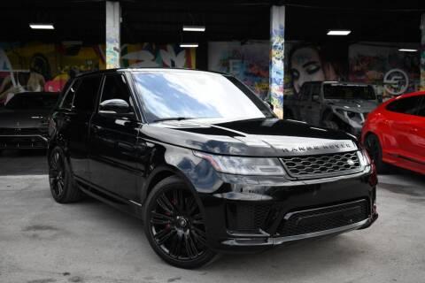 2018 Land Rover Range Rover Sport for sale at STS Automotive - Miami, FL in Miami FL