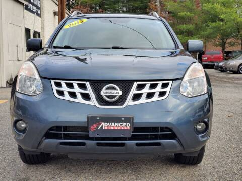 2013 Nissan Rogue for sale at Advanced Auto Sales in Tewksbury MA