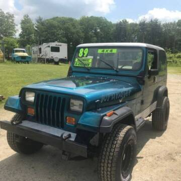 1987 Jeep Wrangler for sale at Classic Car Deals in Cadillac MI