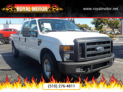 2008 Ford F-250 Super Duty for sale at Royal Motor in San Leandro CA