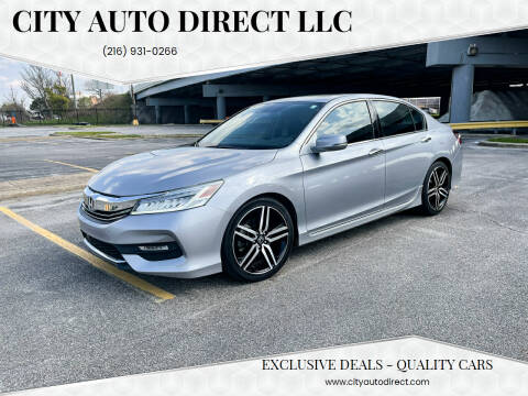 2017 Honda Accord for sale at City Auto Direct LLC in Cleveland OH
