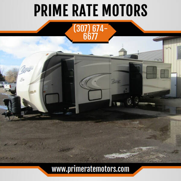 2018 Keystone 33 SAB BP Cougar X Lite Series for sale at PRIME RATE MOTORS in Sheridan WY
