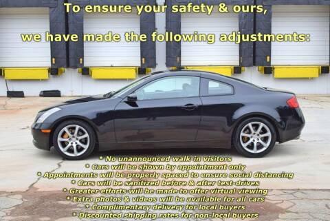 2004 Infiniti G35 for sale at Automotion Of Atlanta in Conyers GA
