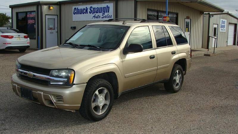 2007 Chevrolet TrailBlazer for sale at Chuck Spaugh Auto Sales in Lubbock TX