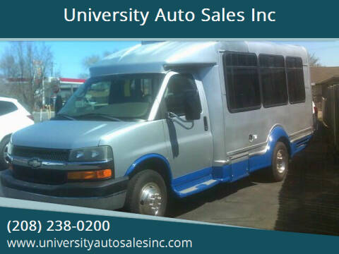 2007 Chevrolet Express Cutaway for sale at University Auto Sales Inc in Pocatello ID