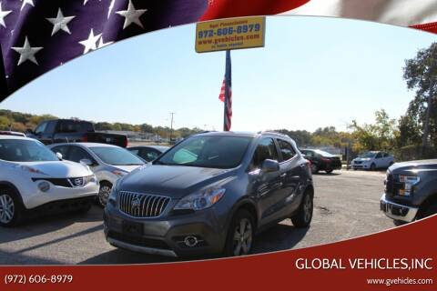 2013 Buick Encore for sale at Global Vehicles,Inc in Irving TX