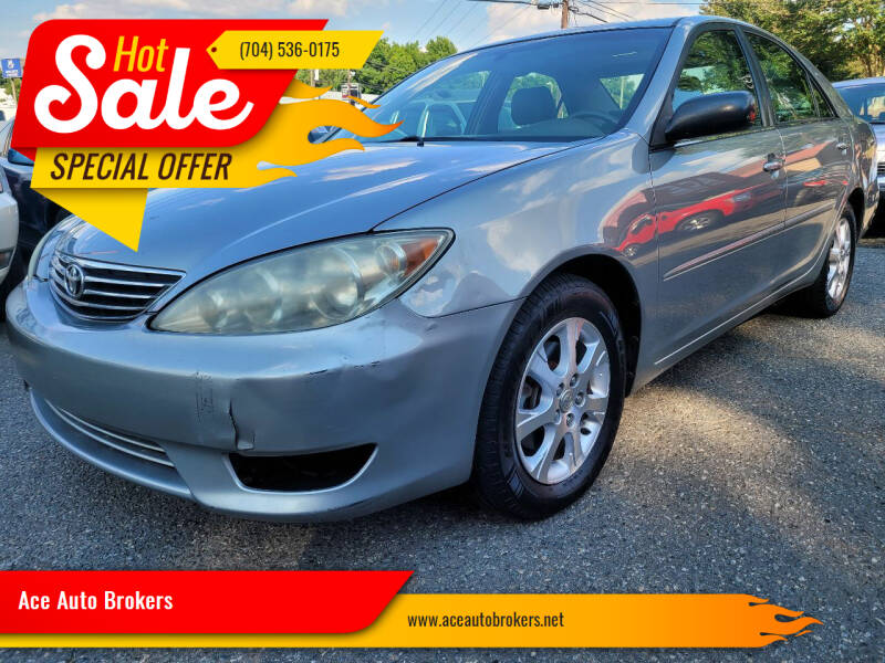 2005 Toyota Camry for sale at Ace Auto Brokers in Charlotte NC
