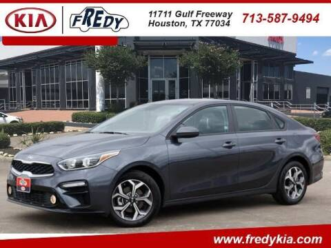 2021 Kia Forte for sale at FREDY USED CAR SALES in Houston TX