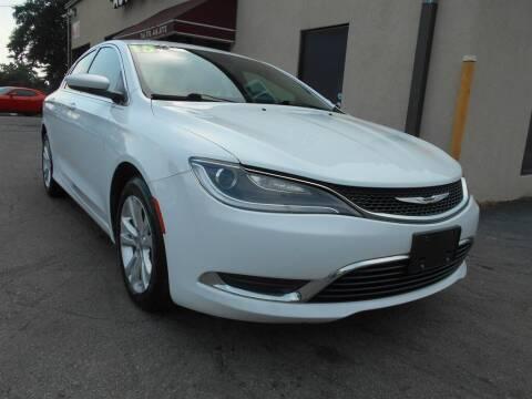 2015 Chrysler 200 for sale at AutoStar Norcross in Norcross GA