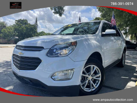 2017 Chevrolet Equinox for sale at Amp Auto Collection in Fort Lauderdale FL