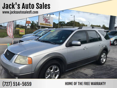 2005 Ford Freestyle for sale at Jack's Auto Sales in Port Richey FL