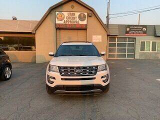 2017 Ford Explorer for sale at Utah Credit Approval Auto Sales in Murray UT