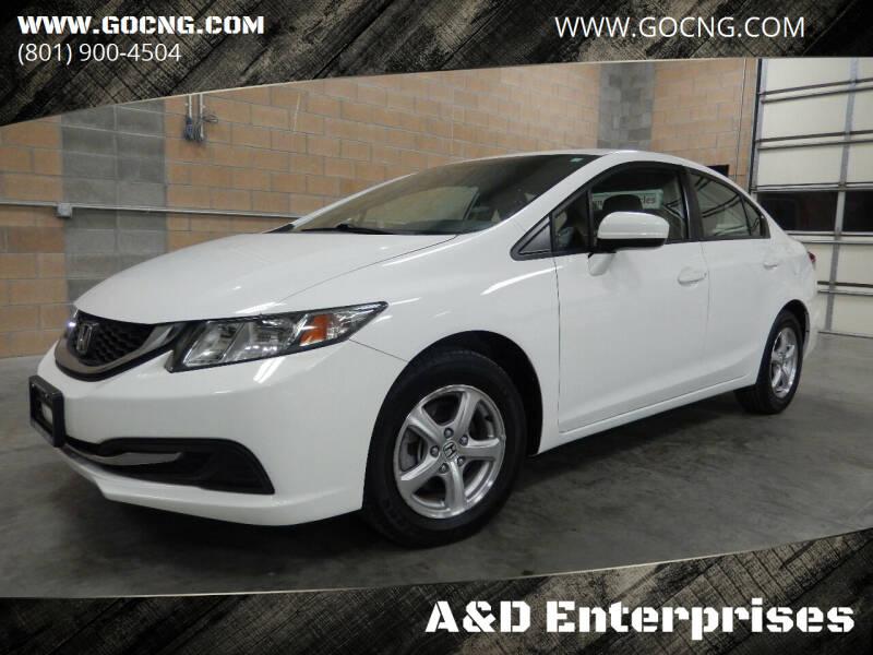2014 Honda Civic for sale at A&D Enterprises in Spanish Fork UT